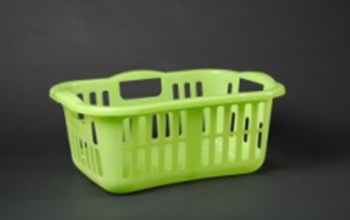 Laundry Basket with cover Laundry Storage Plastic Box Washing Clothes Nozha Trade 65Lt Purple